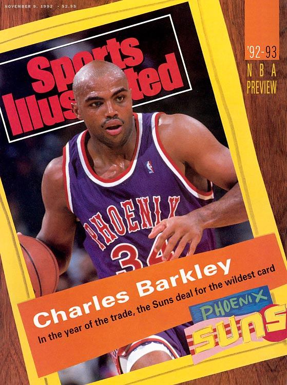 Frustrated with the Philadelphia 76ers' inability to make the postseason, Charles Barkley demanded a trade and got sent to the Phoenix Suns for Jeff Hornacek, Andrew Lang and Tim Perry after the 1991-92 season. The then-29-year-old picked up where he left off in the desert, extending his streak of consecutive All-Star selections to 11 years while claiming the MVP in his first season with the Suns. Although Phoenix made the postseason and reached the NBA Finals, Barkley was denied an NBA title, losing to Michael Jordan's Bulls in six games. He never got back to the Finals.