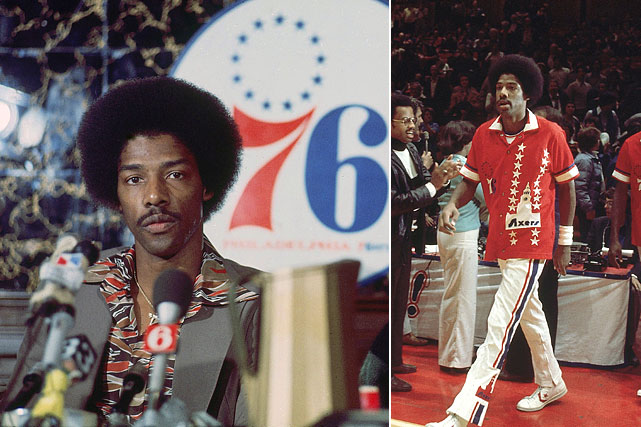 Officially the New York Nets traded Julius Erving to the Philadelphia 76ers for $3 million. In reality, the trade was for a berth in the NBA. After already paying fees to join the league, the Nets faced another fee from the New York Knicks for invading their territory. Strapped for cash, the Nets tried to offer Erving instead. When the Knicks declined, Nets owner Roy Boe found another suitor in the 76ers whose cash offer could help pay off the Knicks. Perhaps the Knicks regretted passing on Erving during the disappointing seasons of the late 1970s and mid-1980s.