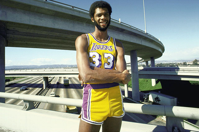 Unhappy with his Midwest location, Kareem Abdul-Jabbar asked out of Milwaukee, getting his time in the sun when the Bucks sent the 28-year-old to the Los Angeles Lakers in 1975 along with Walt Wesley in exchange for Junior Bridgeman, Dave Meyers, Elmore Smith and Brian Winters. In Abdul-Jabbar's 14 season with the Lakers he averaged a double-double six times and scored 20 points per game or better in all but his final three seasons. The NBA's all-time leader in points won three MVPs and five championships in Los Angeles.