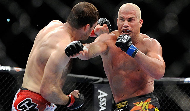 Though he's won only one of his last nine bouts, Tito Ortiz (right) is in line to headline Bellator's PPV card.