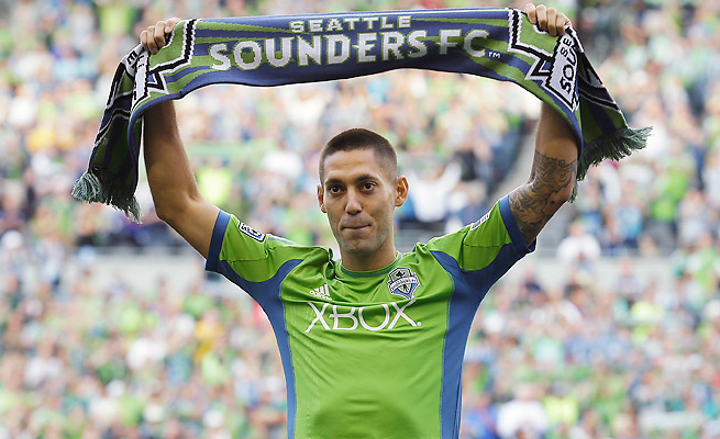 Clint Dempsey will make more than $5 million in guaranteed salary with the Seattle Sounders.