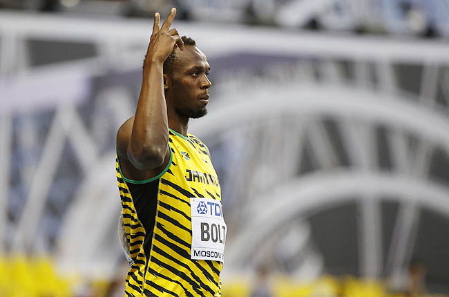Bolt won his heat Saturday in 10.07 seconds, leading the entire way and cruising across the line.
