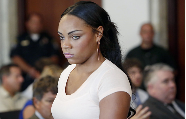 A search warrant for the weapon in Odin Lloyd's death reportedly is focusing on whether Aaron Hernandez may have asked girlfriend Shayanna Jenkins to take the gun after the alleged shooting.