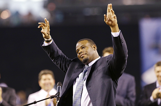 Griffey finished his career with 630 home runs, sixth all-time, and was a 13-time All-Star.