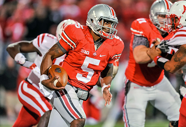 Ohio State's Braxton Miller could take big strides in his second season in coach Urban Meyer's system.