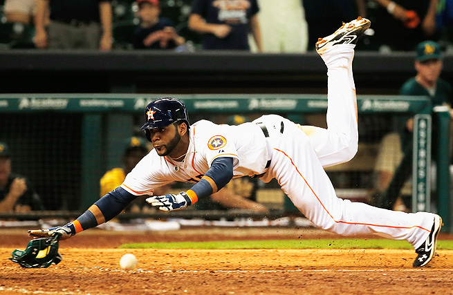 Since his call-up for the Astros on July 22, Jonathan Villar has hit .245 and stolen 10 bases.