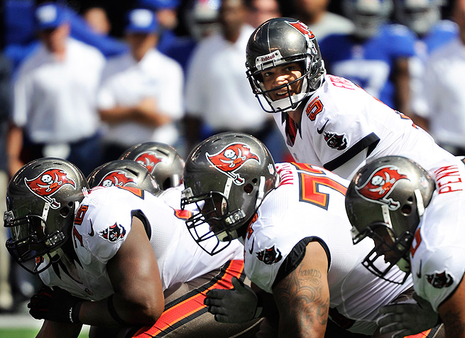 With a healthy offensive line, Josh Freeman will help the Bucs compete for a playoff spot this season.