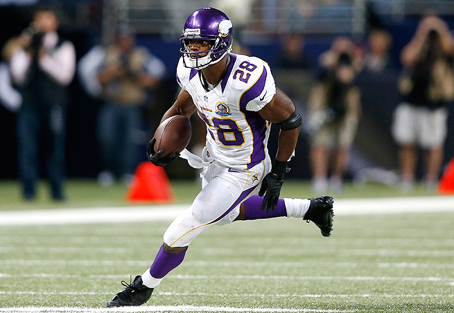 If you're lucky enough to land Adrian Peterson, how do you handle his bye in Week 5?