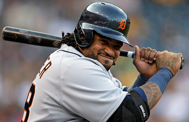 Prince Fielder has endured a recent power slump, with his last homer coming on July 24.