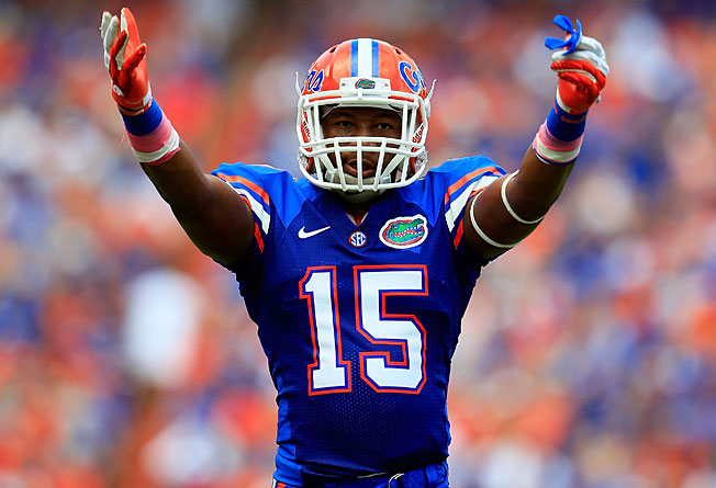 A standout cornerback, Florida's Loucheiz Purifoy could also see playing time at wide receiver in 2013.