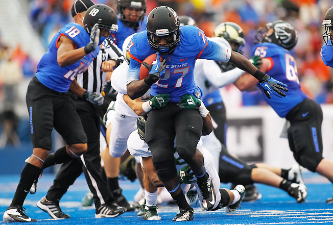Jay Ajayi averaged 6.7 yards per carry as a backup in 2012 and should star as the featured back in '13.