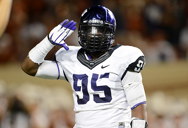 Defensive end Devonte Fields may be TCU's best player, but he's suspended the first two games of ' 13.
