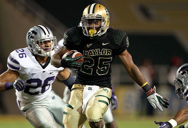 Baylor's Lache Seastrunk rushed for 1,012 yards last season, including 185 in an upset of Kansas State.