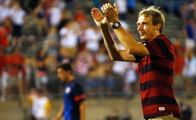 Including today's game in Sarajevo, Jurgen Klinsmann has coached the U.S. six times in Europe.