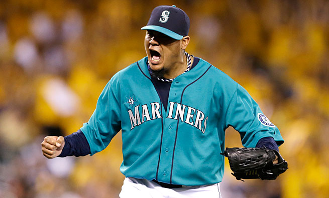 Felix Hernandez is bidding for his second AL Cy Young award in the past four years.