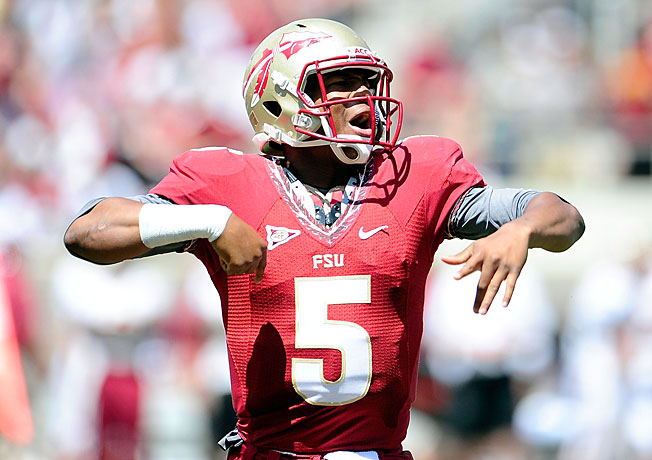 Jameis Winston has become the face of FSU's team behind his two-sport ability and outsize personality.