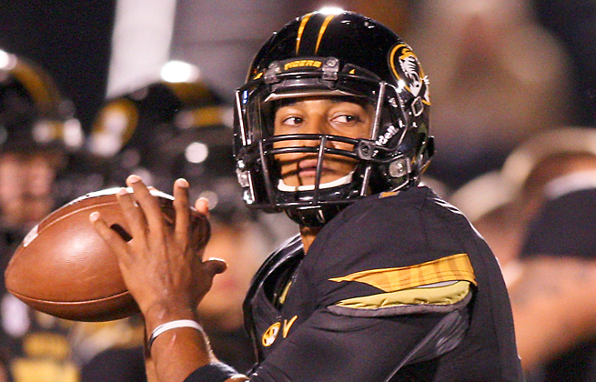 James Franklin will start at QB for a Missouri team trying to rebound from a 5-7 2012 season.