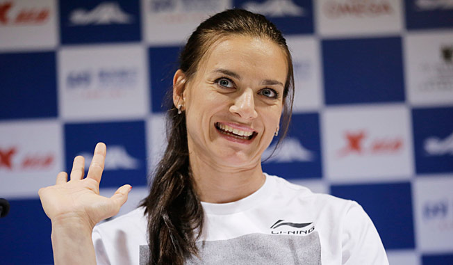 Yelena Isinbayeva says she believes that foreign visitors should respect the laws of the lands they visit.