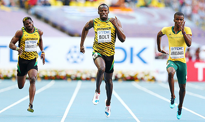 Usain Bolt is one step closer to yet another pursuit of three gold medals at a single worlds or Olympics.