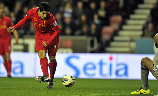 Luis Suarez has attempted to force his way out of Liverpool to Premier League rival Arsenal.