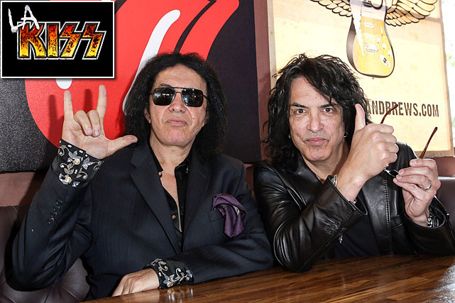 KISS band members Gene Simmons and Paul Stanley are part owners of a Los Angeles-area expansion team in the Arena Football League. The league announced the LA KISS will play their games in the Honda Center in Anaheim starting in March 2014. Simmons and Stanley reportedly became interested in an AFL franchise when league officials began talks with the band to perform at ArenaBowl XXVI, the league's championship game to be played in Orlando on Aug. 16, 2013.