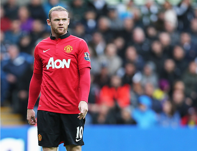 Wayne Rooney was benched to start Manchester United's opener, but still logged two assists.