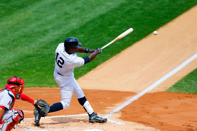Alfonso Soriano is on a hot streak right now, and is a must-start in all fantasy leagues.