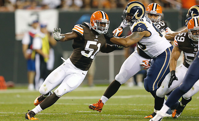 The Browns selected Mingo with the sixth overall pick in the 2013 NFL Draft.
