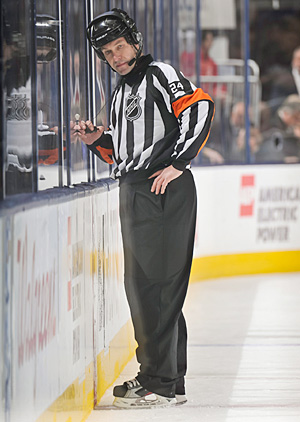 Referee Stephen Walkom, who made a disputed call during the playoffs, is now the NHL's new director of officiating.