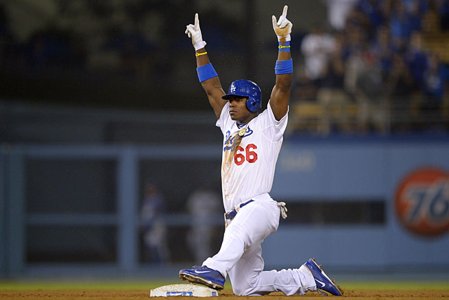 Los Angeles got pointed in the right direction shortly after Yasiel Puig made his debut on June 3.