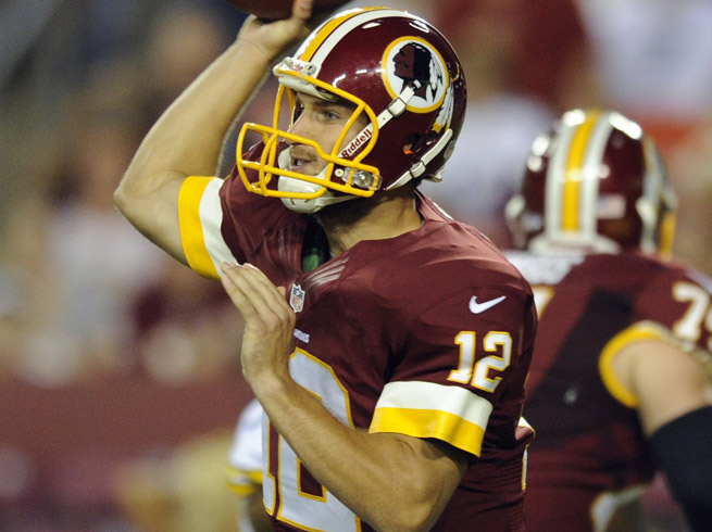 Kirk Cousins left Monday night's game against the Pittsburgh Steelers due to a right foot injury.