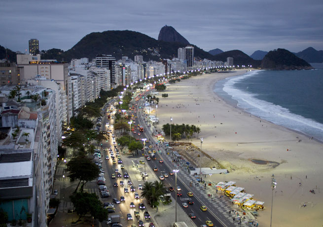 Bazil's government is concerned that hotels in cities like Rio de Janeiro may be overpriced for the World Cup.