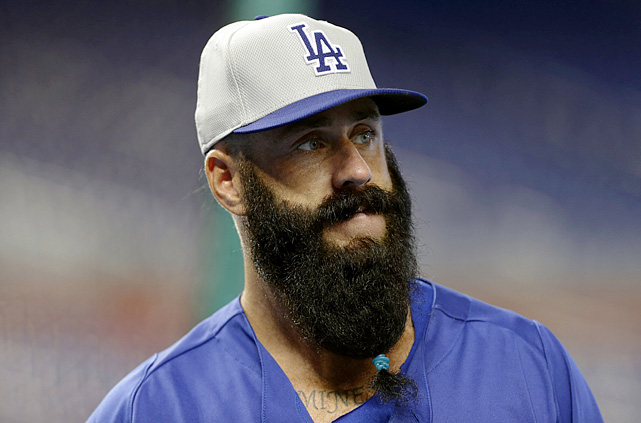 Relief pitcher Brian Wilson, who was activated by the Dodgers on Monday, Aug. 19, 2013, has reportedly been offered $1 million to shave off his beard. Here, we take a look at some of the best beards in sports history.
