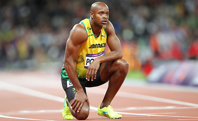 Olympic gold-medalist Asafa Powell was one of five Jamaicans to fail doping tests before this year's world championships.