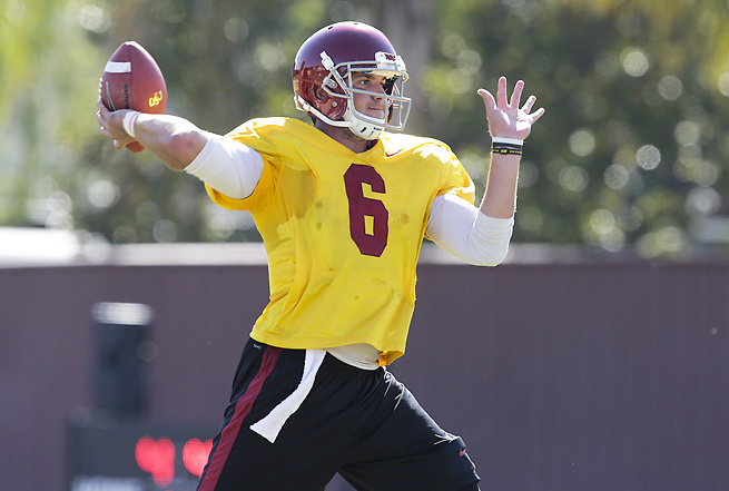 USC's Cody Kessler was impressive in the final scrimmage, but was not named the starter.