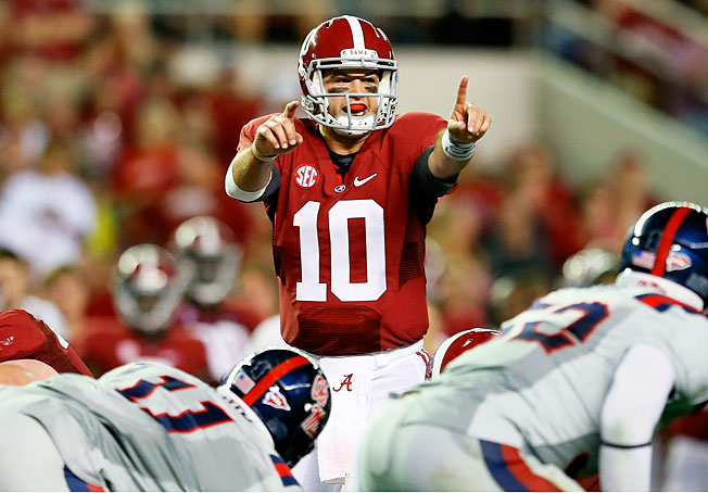 Quarterback AJ McCarron will look to lead 'Bama to a third straight BCS championship in the '13 season.
