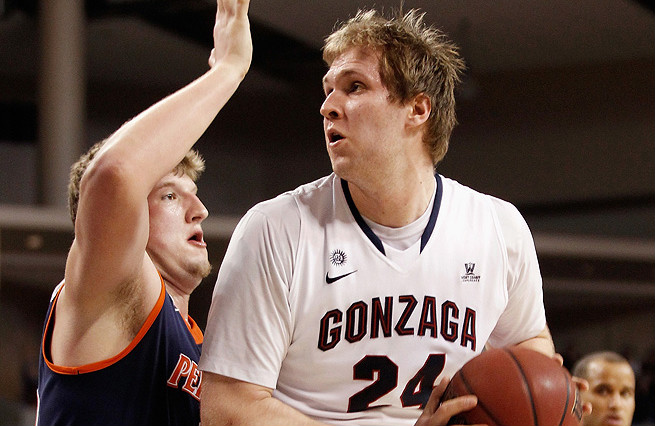 Gonzaga's Przemek Karnowski barely played his freshman year, but showed glimpses of being a centerpiece scorer.