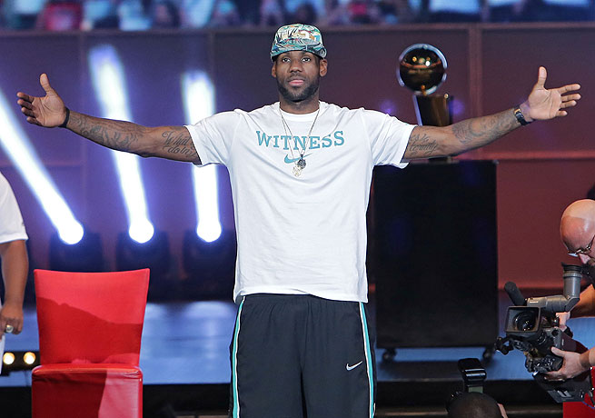 LeBron James has risen to idol status in Miami after leading the Heat to consecutive championships.