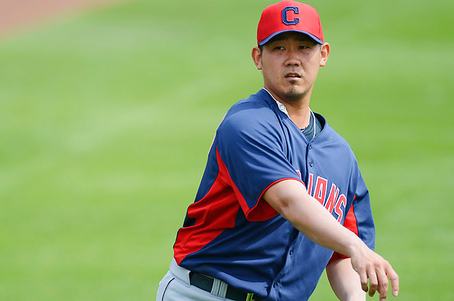 Matsuzaka spent the season at Triple-A Columbus after failing to win a spot in Cleveland's rotation.