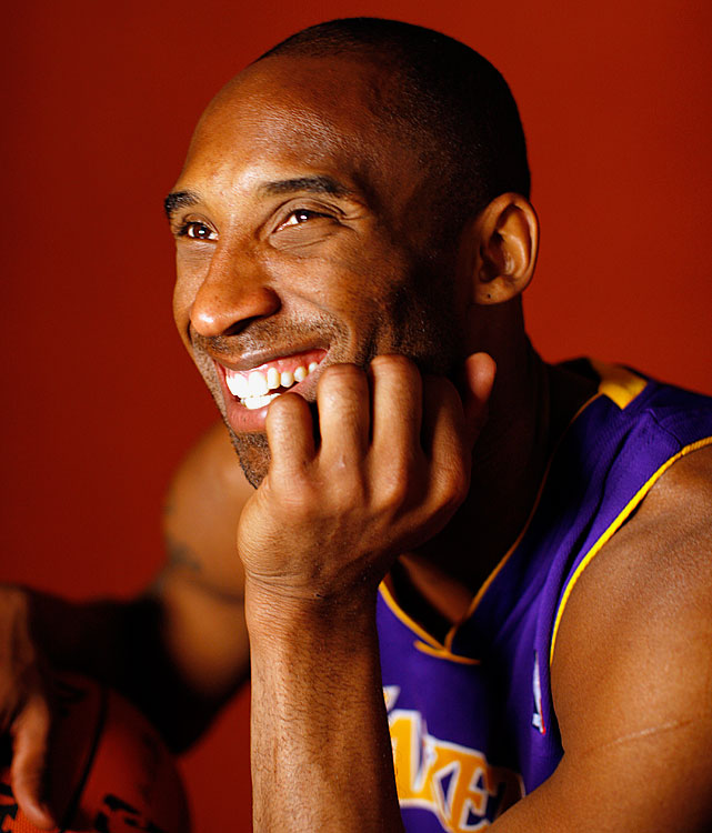 It's as if Kobe knows he is just a few months away from winning another NBA Championship and Finals MVP during this photo shoot in March 2010.