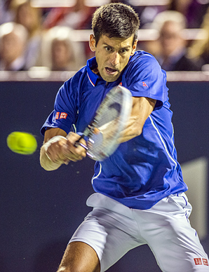 Novak Djokovic has made three U.S. Open finals in a row, winning the 2011 title.