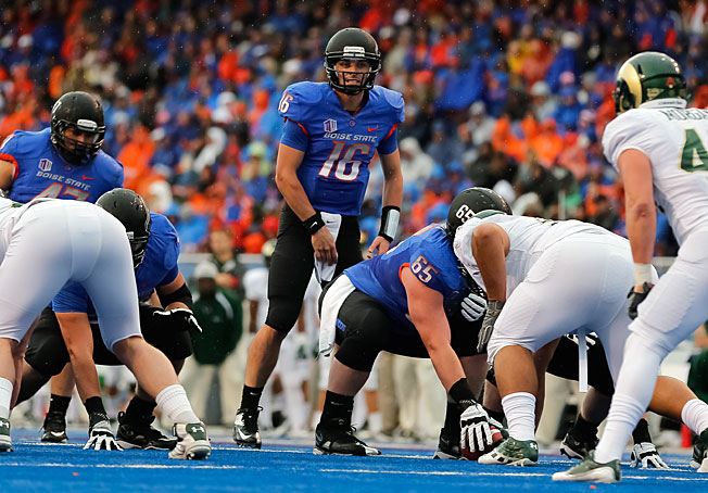 After going 11-2 last season, Joe Southwick (16) and Boise State will look to make one final BCS run.