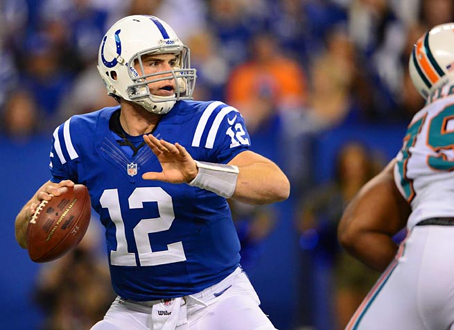 Entering his second year with the Colts, Andrew Luck could be a fantasy star.