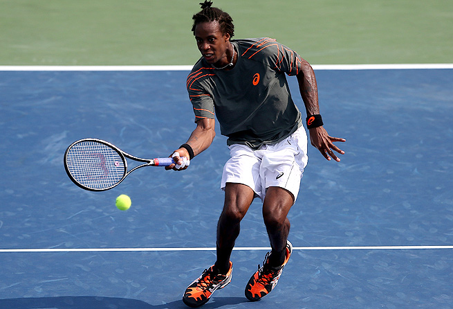Gael Monfils overcame a 4-0 deficit to beat Alexandr Doglopolov 7-6 (11), 6-3 and advance to the finals.