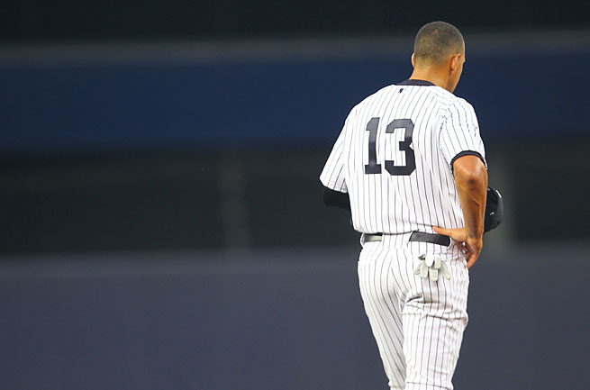 Alex Rodriguez is playing while he appeals his 211-game suspension for alleged PED use.