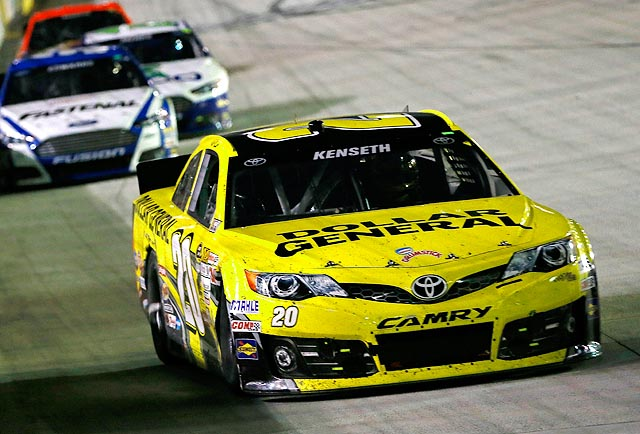 The win is the fifth of the season for Kenseth, most of any driver in the Sprint Cup Series.