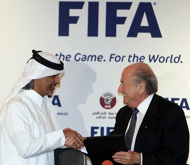 FIFA has undergone substantial criticism since it awarded the 2022 World Cup to Qatar.