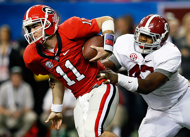 Aaron Murray and Georgia are ready to move on from their loss to Alabama in last year's SEC title game.