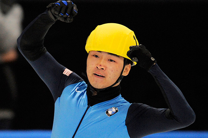 Cho received a two-year suspension after admitting he tampered with the skates of a Canadian rival.