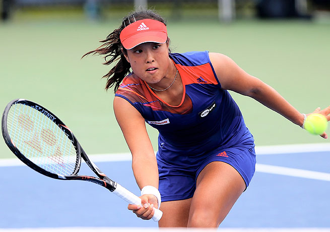 Ayumi Morita, ranked 51st in the world, was slated to play Sara Errani in the first round.